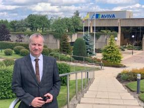 Wishart visits Aviva following jobs announcement